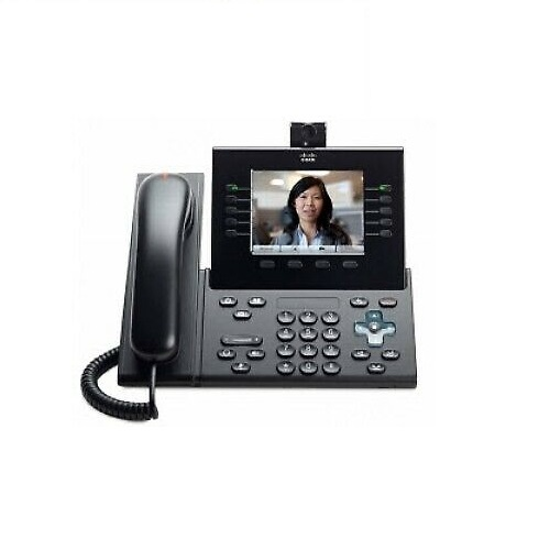 Cisco Unified IP Phone 9951, Charcoal, Standard Handset