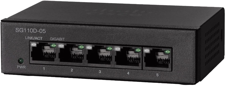 Cisco 5-Port Gigabit Unmanaged Desktop Switch