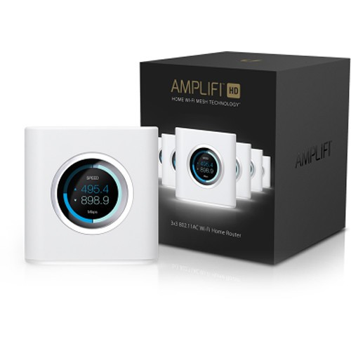 Ubiquiti AMPLIFI High Density HD Home Wi-Fi Router - 2x2 MIMO Max Coverage 930 sqm