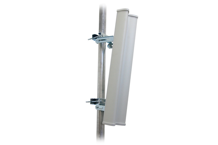 Ubiquiti 2.3-2.7GHz AirMax Base Station Sectorized Antenna 15dBi 120 deg For Use With RocketM2 - All mounting accessories and brackets included