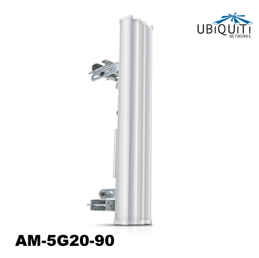 Ubiquiti High Gain 4.9-5.9GHz AirMax Base Station Sectorized Antenna 20dBi, 90 deg - All mounting accessories and brackets included