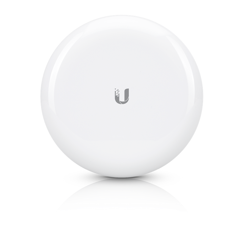 Ubiquiti 60GHz/5GHz AirMax GigaBeam Radio, Low Latency 1+ Gbps Throughput, Up to 1km distance, 5GHz backup link built in