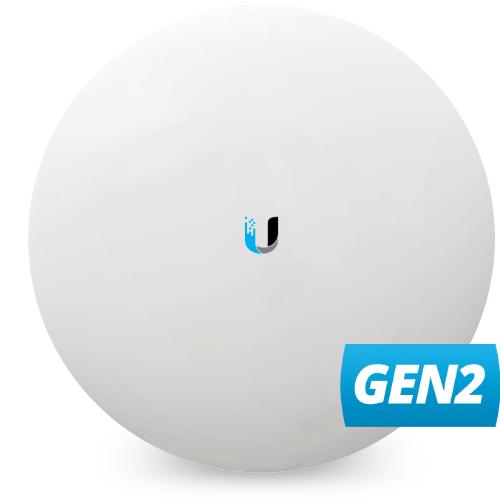 Ubiquiti NanoBeam AC 19dBi 5GHz 802.11ac, Gen2, 450+ Mbps, Range 15+ km