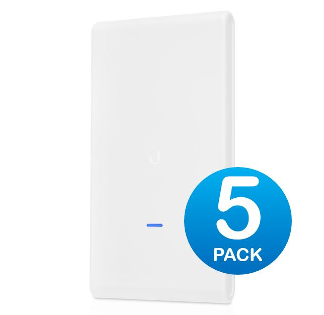 Ubiquiti UniFi AP AC Mesh PRO 802.11ac Dual Radio Indoor/Outdoor access point - 1750Mbps 5 pack no PoE