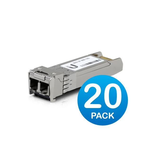 Ubiquiti UFiber  SFP+ Multi-Mode Module 10G 20-pack