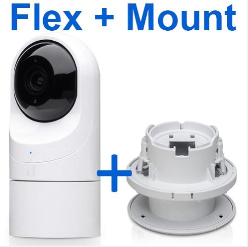 Ubiquiti UniFi Protect – G3 Flex + Flex Ceiling Mount