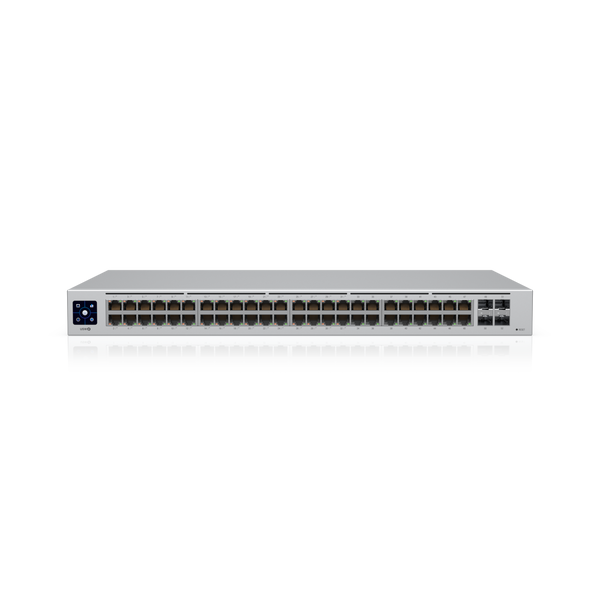 ***NEW Ubiquiti UniFi 48 port Managed Gigabit Layer2  Layer3 switch - 48x Gigabit Ethernet Ports w/ 32x 802.3at POE+, 4x SFP Port Touch Display 210W