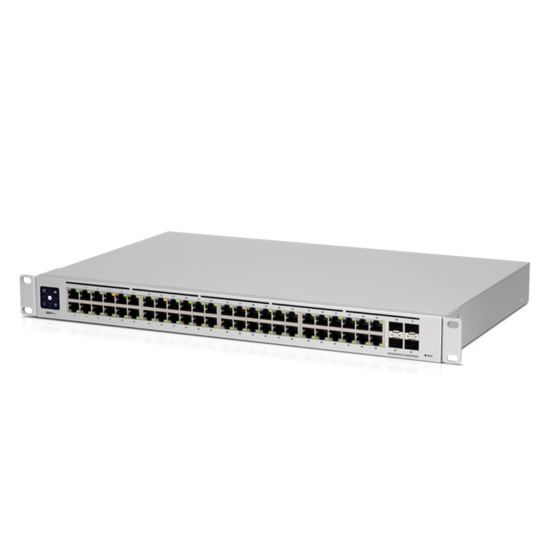 ***NEW Ubiquiti UniFi 48 port Managed Gigabit Layer2  Layer3 Switch - 48x Gigabit Ethernet Ports, 4x SFP+ Ports - Touch Display - GEN2