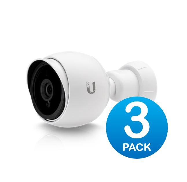 Ubiquiti UniFi Video Camera G3-BULLET Infrared IR 1080P HD Video 3 pack