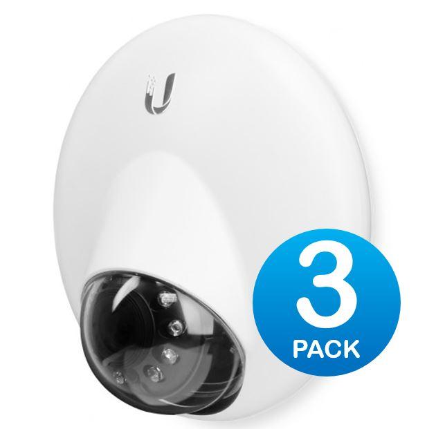 Ubiquiti UniFi Video Cam Dome G3 IR 1080P Full HD Video 3 Pack NO PoE