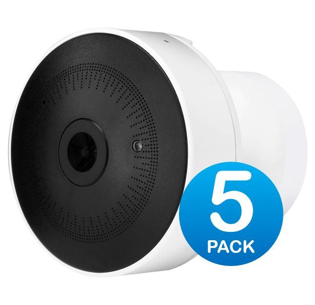 Ubiquiti UniFi Video G3-MICRO Cam Micro 1080p Full HD, 5-Pack
