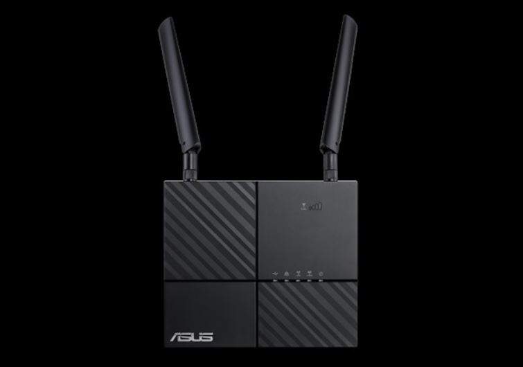 ASUS 4G-AC53U AC750 Dual-Band LTE Wi-Fi Modem Router, features 4G LTE  Category 6 technology with SIM card slot