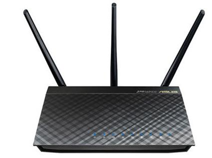 ASUS RT-AC66U B1 Wi-Fi 5 802.11ac Dual-Band Wireless-AC1750 Gigabit Router With AiMesh, Adaptive QoS, Parental Control, 4xGigabit LAN, 1xU2, 1xU3