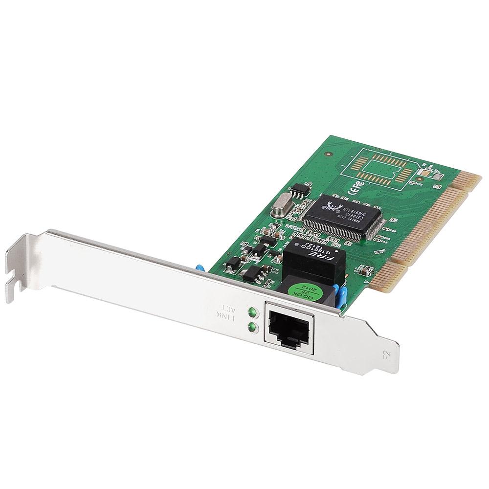 Edimax Gigabit Ethernet 32-bit PCI Card with low profile bracket