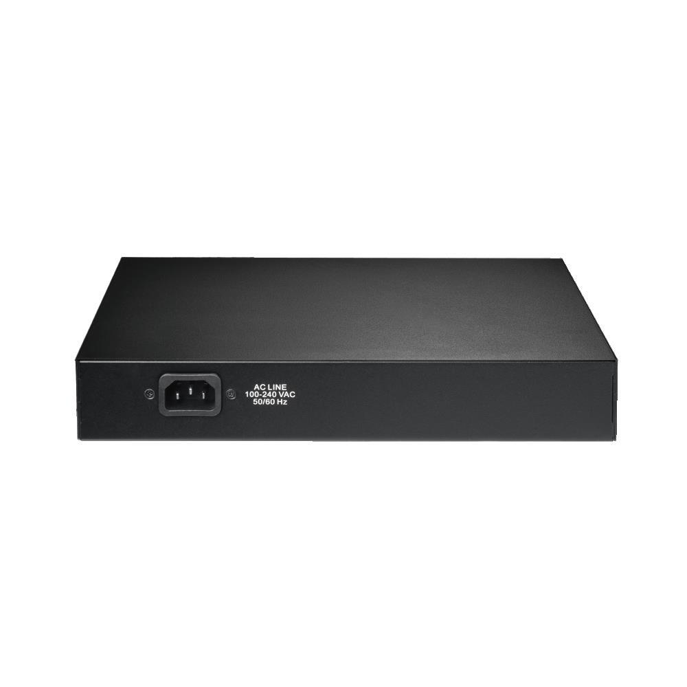 Edimax 8 port 10/100M PoE+ Switch (8 PoE+ ports,150W) Fan-less
