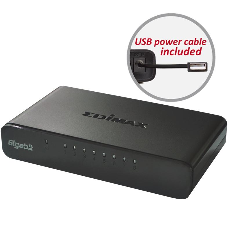 Edimax ES-5800G V3 8-Port Gigabit Switch