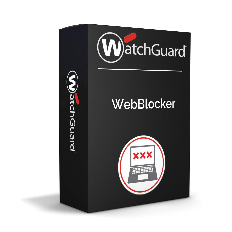 WatchGuard WebBlocker 1-yr for Firebox M4600