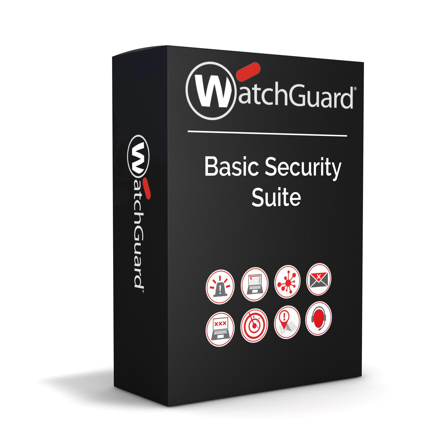 WatchGuard Basic Security Suite Renewal/Upgrade 3-yr for Firebox M4600
