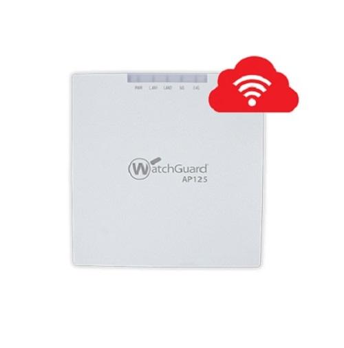 WatchGuard AP125 and 3-yr Basic Wi-Fi