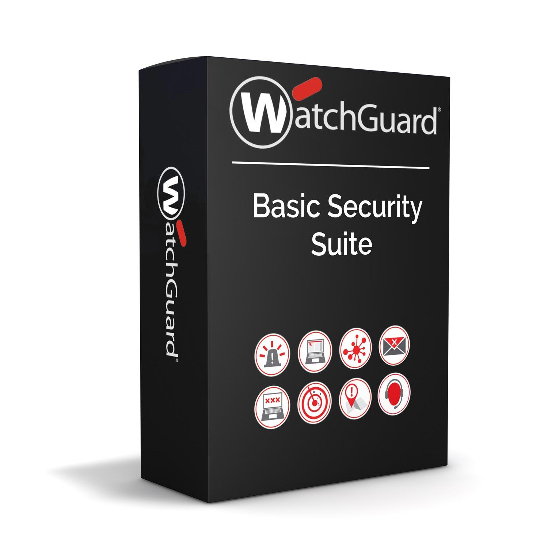 WatchGuard Basic Security Suite Renewal/Upgrade 3-yr for Firebox Cloud Medium