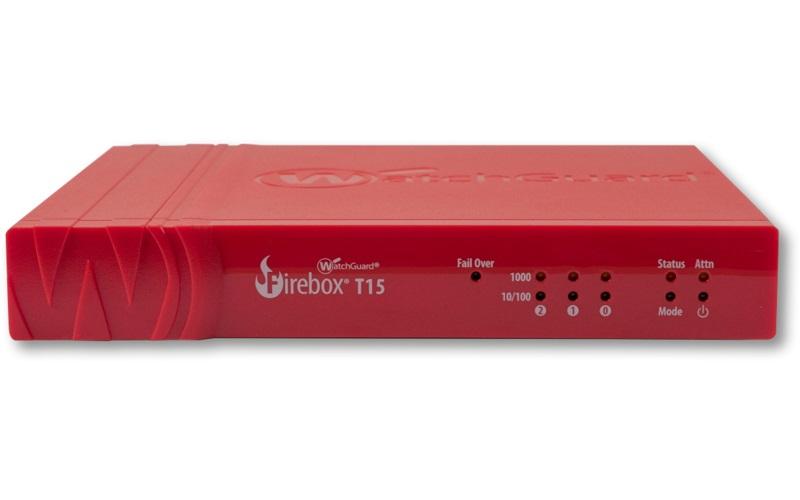 WatchGuard Firebox T15 with 3-yr Basic Security Suite (WW)