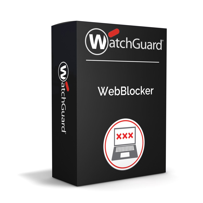 WatchGuard WebBlocker 1-yr for Firebox T55
