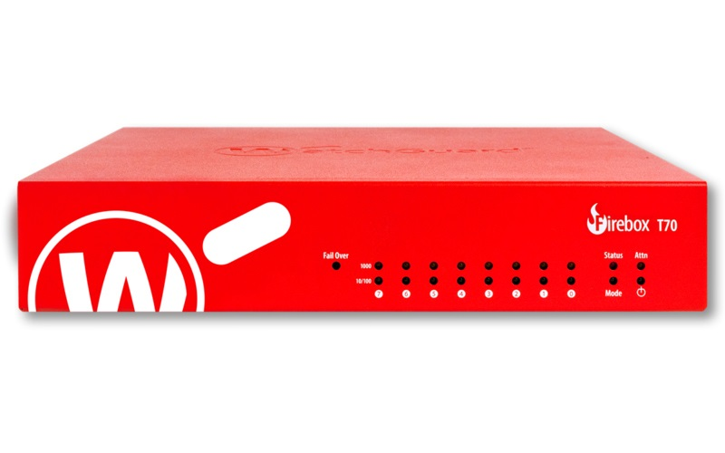 WatchGuard Firebox T70 with 1-yr Total Security Suite (WW)