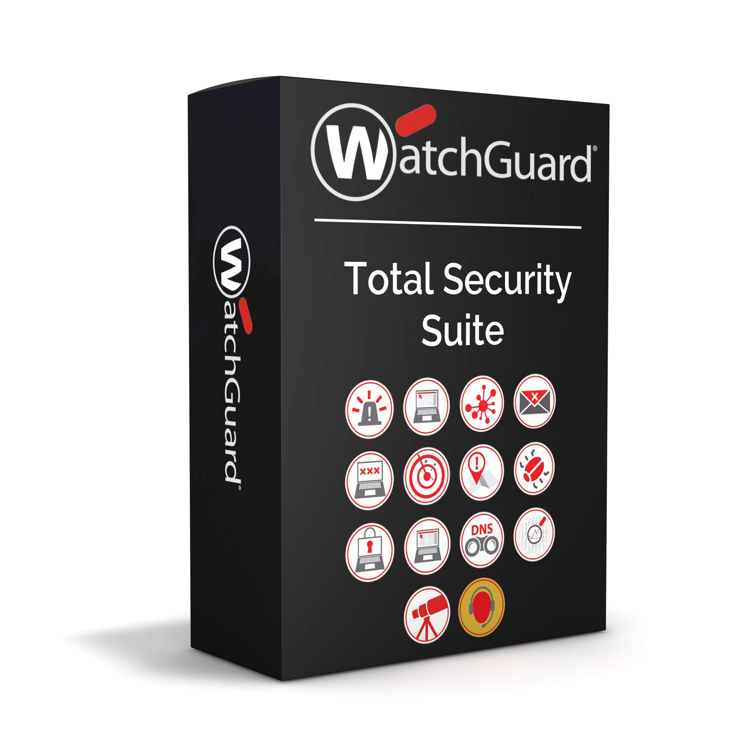 WatchGuard Total Security Suite Renewal/Upgrade 1-yr for FireboxV Medium