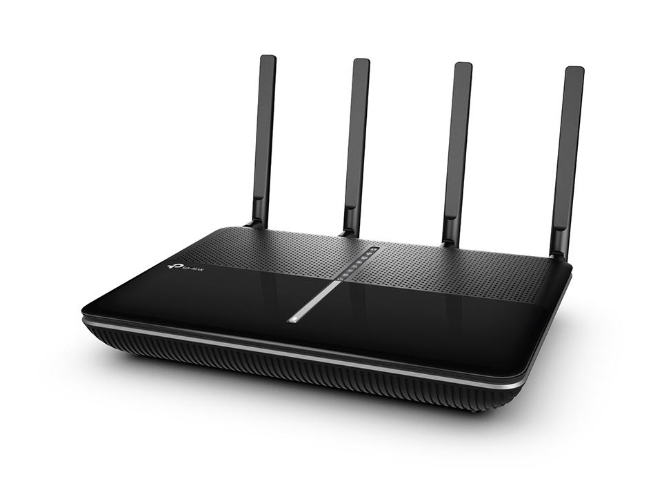 TP-Link Archer VR2800 AC2800 2.8Gbps Wireless MU-MIMO VDSL/ADSL Modem Router 2167Mbps@5GHz 600Mbps@2.4GHz 4x1Gbps LAN/WAN 2xUSB 4xAntennas