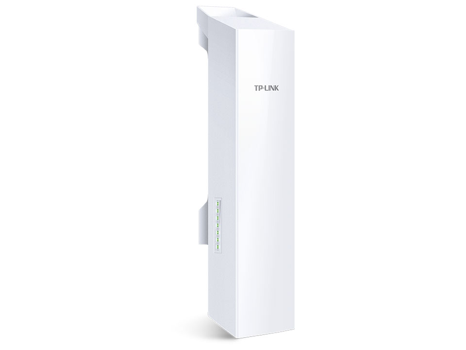 TP-Link CPE220 2.4GHz 300Mbps 12dBi High Power Outdoor CPE Access Point 802.11b/g/n 2x2 dual-polarized directional MIMO antenna Passive PoE up to13km