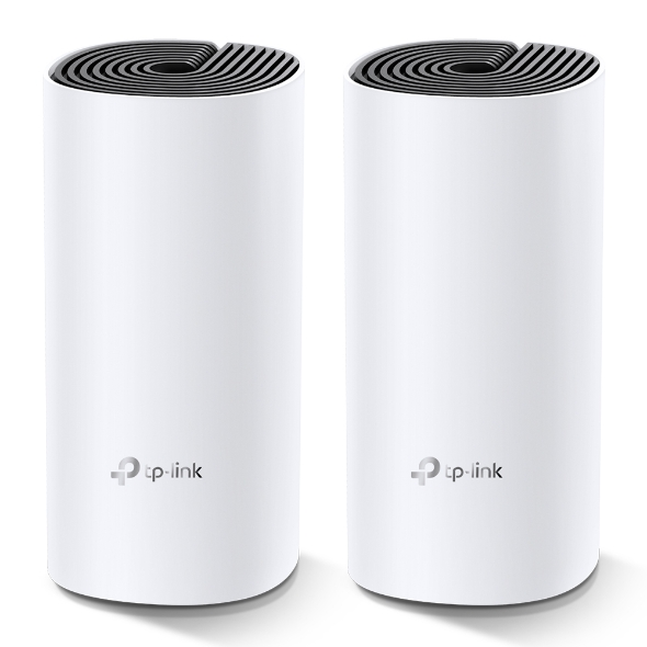 TP-Link Deco M4 (2-pack) AC1200 Whole Home Mesh Wi-Fi System.  ~260sqm Coverage, Up to 100 Devices, Parental Control