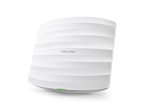 TP-Link EAP320 1200Mbps Wireless AC1200 Dual Band Gigabit Ceiling Wall Mount Access Point PoE 1x1Gbps 2x7dBi IEEE 802.3at Multi-SSIDs(EOL