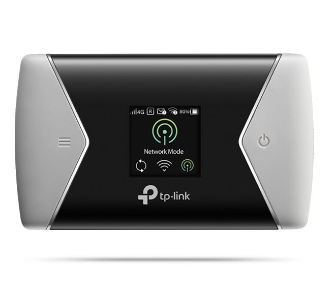 TP-Link M7450 LTE-Advanced Mobile Wi-Fi 3G/4G AC1200 300Mbps DL 50Mbps UL, SIM Slot, MicroSD (Up to 32G Optional), 3000mA 15+ Hrs, 32 Devices