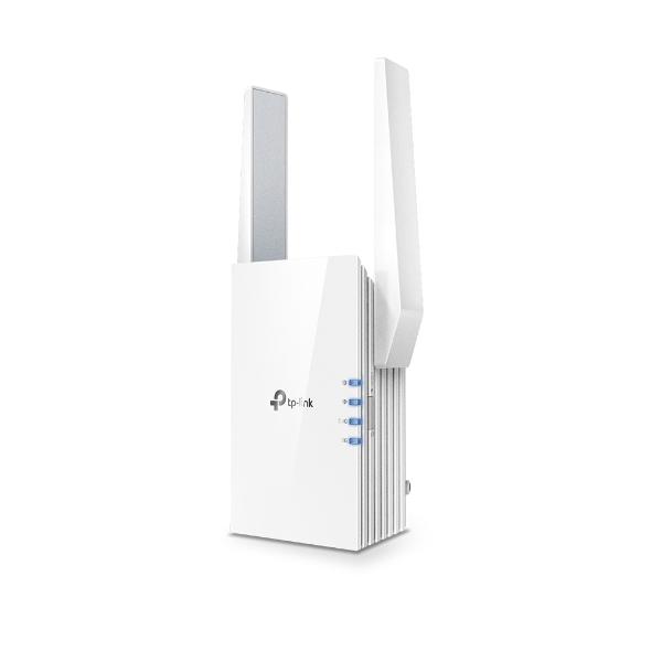 TP-Link RE505X AX1500 Wi-Fi Range Extender 300 Mbps@2.4GHz 1200 Mbps@5GHz 1 Gbps LAN Port 2x Antennas