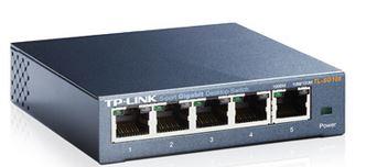 TP-Link SG105 5port Switch Desktop,Gigabit,Steel Case