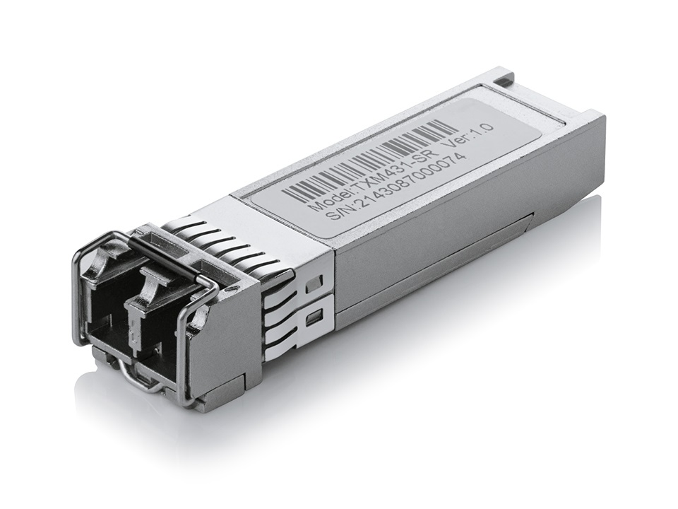 TP-Link TXM431-SR 10G Base-SR SFP+ LC Transceiver Compatible with T3700 T2700 T1700 series switches Hot-Pluggable(LS)