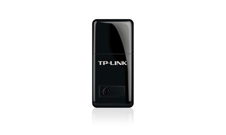 TP-Link TL-WN823N N300 Mini Wireless N USB Adapter 2.4GHz (300Mbps) 1xUSB2 802.11bgn Internal Antenna Mini-sized design WPS button