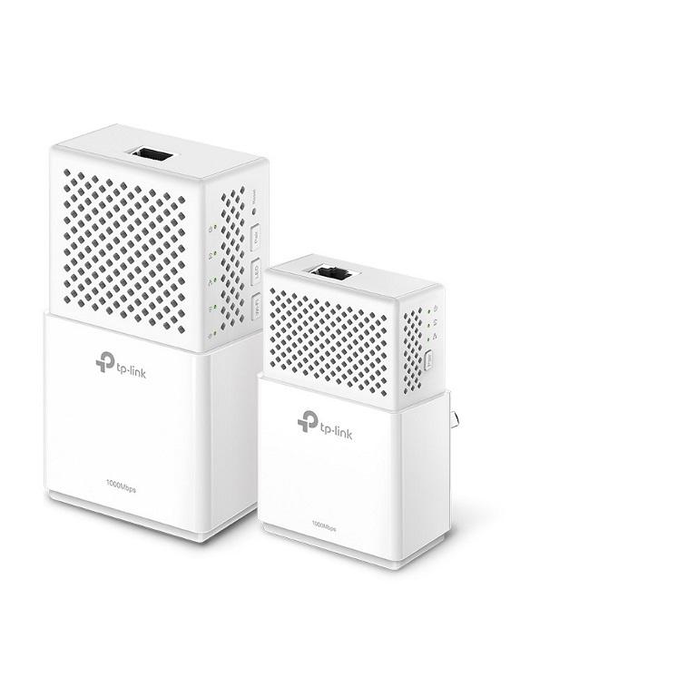 TP-Link TL-WPA7510-KIT AV1000 1000Mbps Gigabit Powerline AC Wi-Fi Kit 2.4GHz@300Mbps 5GHz@433Mbps 1x1Gbps Port HomePlug WPA7510+PA7010 300m Range (LS)