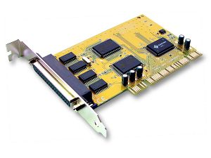 Sunix 4 Port Serial PCI Card SER5056A , 4 ports DB9M/25M