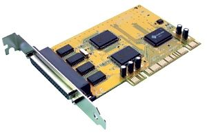 Sunix 4 Prt Serial PCI Card Includes optional Low Profile