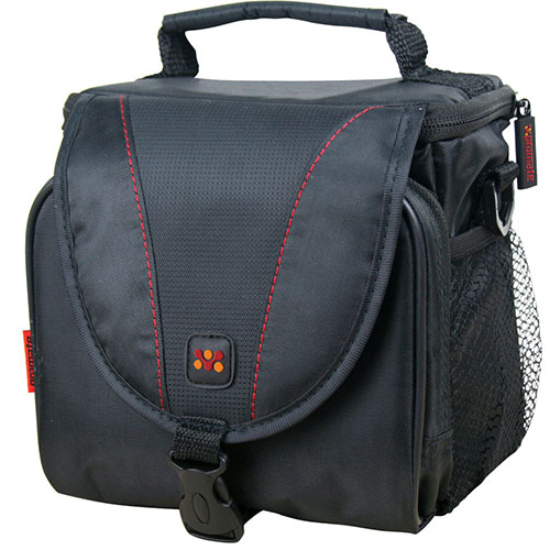Promate 'xPose.L' Compact Camera case with Front pocket and lanyard Strap - Large