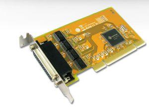 Sunix 4 Port Serial PCI Low Profile LP Card RS232 (includes 4 x Spliter Cable)
