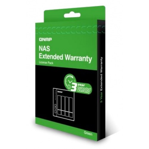 QNAP EXTENDED WARRANTY FROM 2 YEAR TO 5 YEAR - GREEN, E-DELIVERY