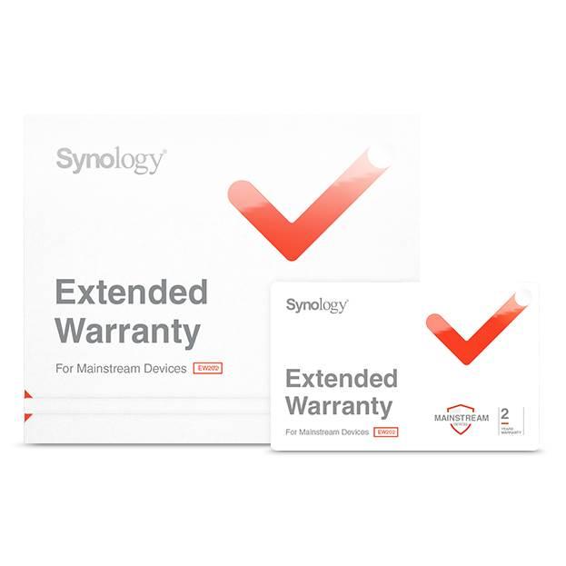 Synology Warranty Extension - Extend warranty from 3 years to 5 Years on RS818+ / RS818RP+ / RS2418+ / RS2418RP+ / RS1219+ / DS2419+ / RS2818RP+