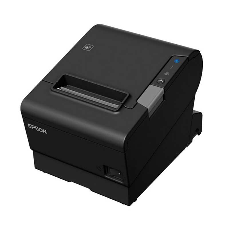 Epson TM-T88VI-581 Bluetooth + built-in Ethernet & built-in USB With PSU, no data or power cables Black colour