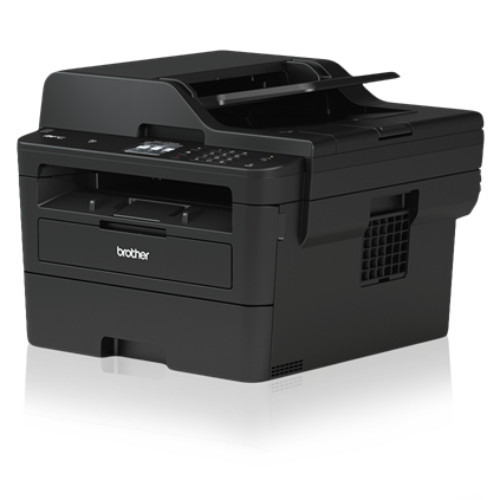 Brother L2750DW A4 Wireless Compact Mono Laser Printer All-in-One with 2.7' Touchscreen,  2-Sided Print, Scan, Copy, Fax 34ppm