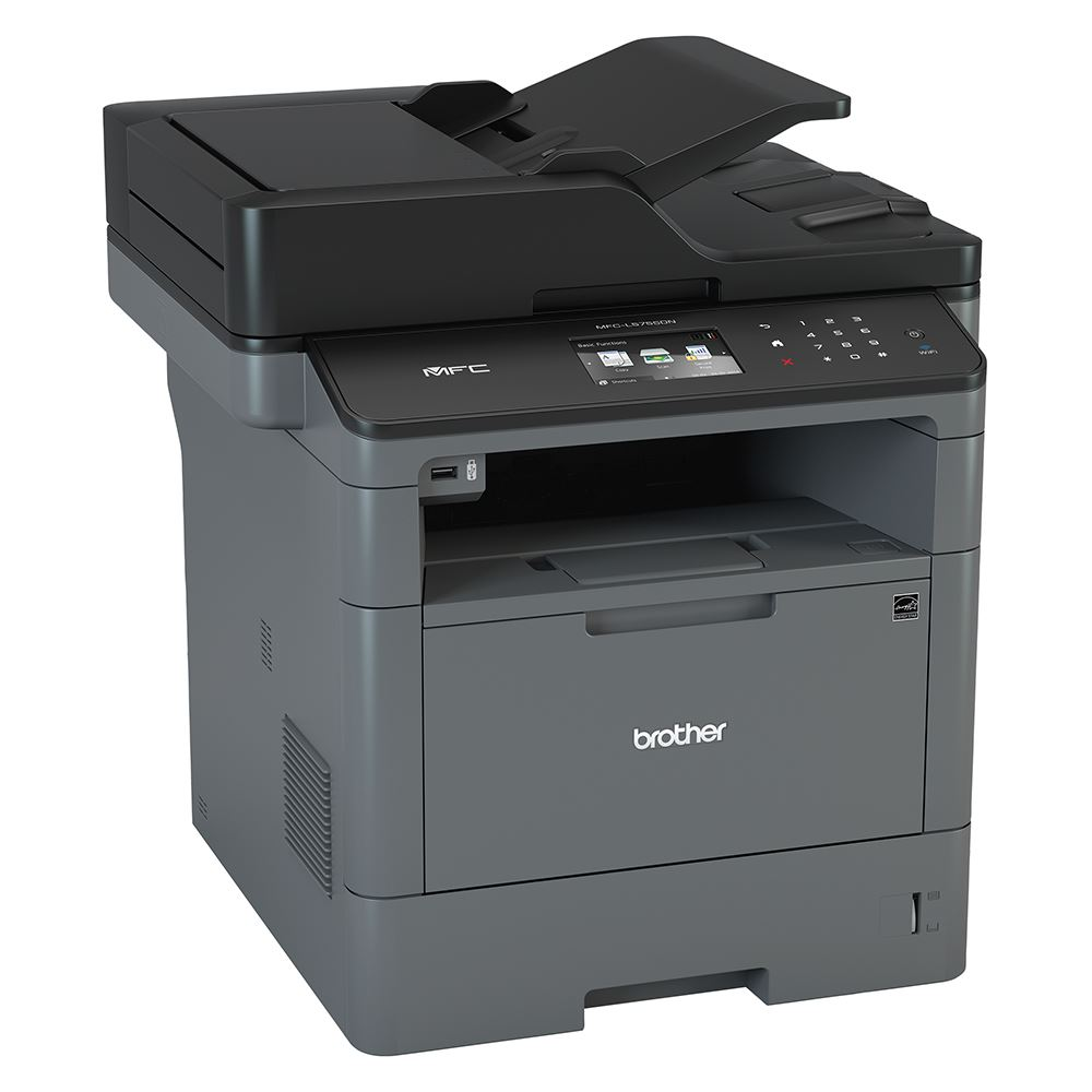 Brother MFC-L5755DW WIRELESS HIGH SPEED MONO LASER MULTI-FUNCTION CENTRE WITH 2-Sided PRINTING SCAN  (40PPM, 250 Sheets Paper Tray,9.3cm touch screen