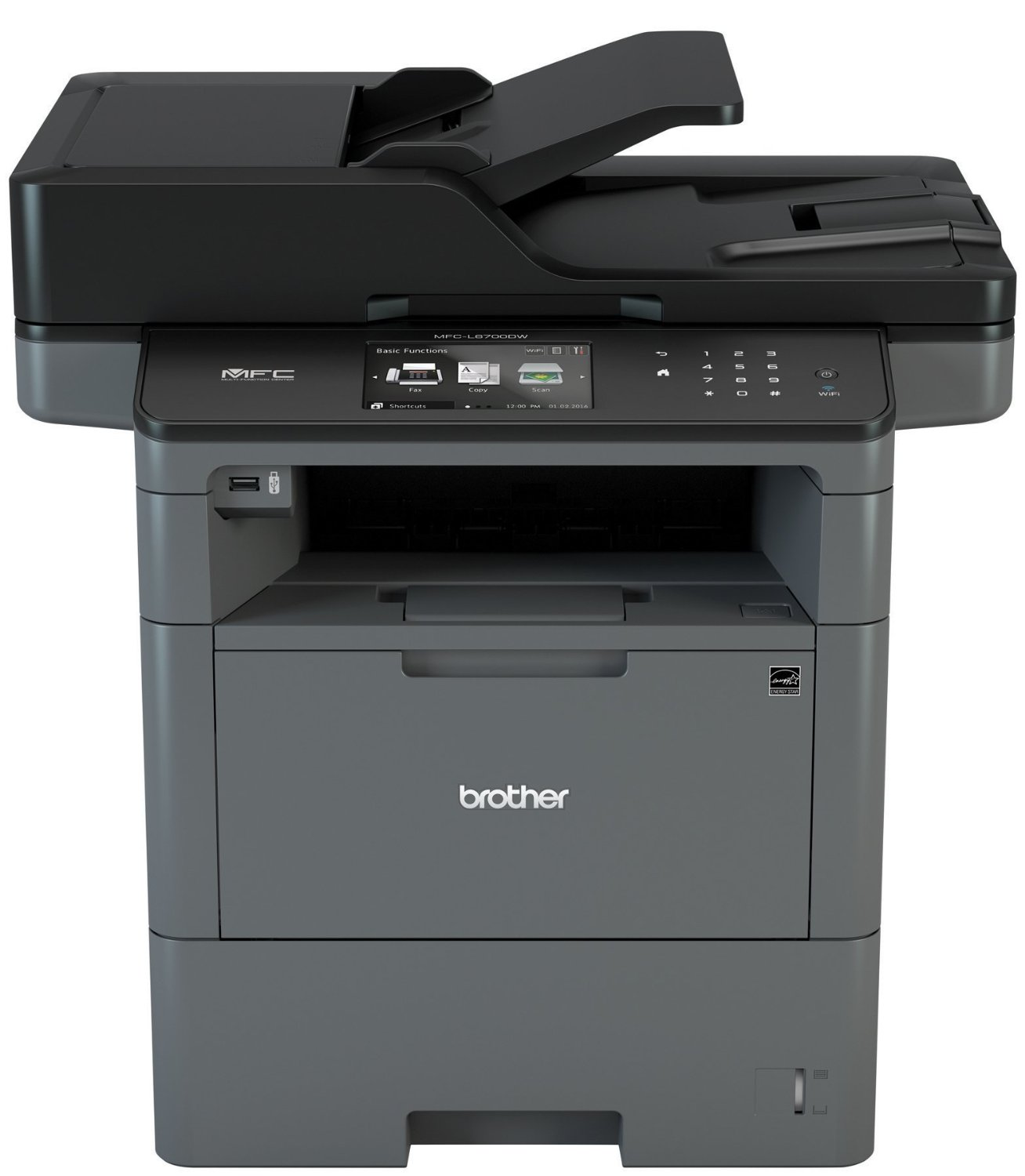 Brother MFC-L6700DW Multifuction, 46ppm, Touch Screen, Wireless, Scan, Copy, Fax, 2 Side Printing