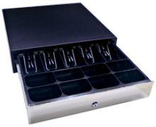 GC36 Cash Drawer Black Lockable Cash Drawer 24v