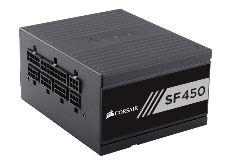 Corsair 450W SF 80+ Gold Fully Modular 80mm FAN SFX PSU (Not ATX Standard) 7 Years Warranty